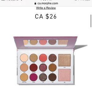 NEW🧨MorpheXManny Glam Eyeshadow Palette NIB